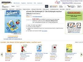 """Amazon bietet E-Comic """"Die Schlümpfe machen Urlaub"""" zum kostenlosen Download an"""