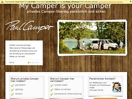 Auf PaulCamper Wohnmobile und Camper mieten oder vermieten