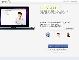 mit jeddit online bewerbungen professionell erstellen - Bewerbung Online Erstellen