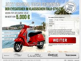 Vespa im Italo-Style gewinnen