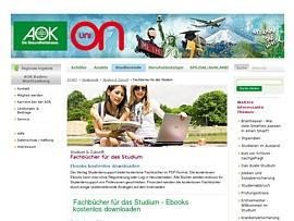 Kostenlose E-Books - Fachbücher fürs Studium