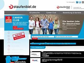Auf Staufenbiel.de kostenlos Bewerbungsanschreiben erstellen und Lebenslauf generieren