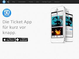 50hours - Kostenlose Ticket App für Spontane