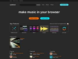 Per Audiotool kostenlos online Musik komponieren