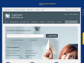 Ingenieurkarriere.de - Stellenmarkt mit Jobs für Ingenieure