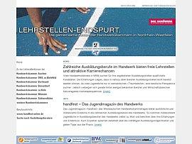 NRW:  Ausbildungsplatzbörse für Handwerksberufe