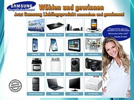 Alles nur von Samsung gewinnen
