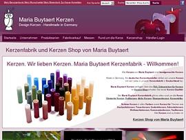 Maria Buytaert Kerze gratis für Blogger