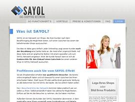 Sayol - Shopping Netzwerk, um neue Kunden zu gewinnen