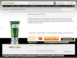 Aftershave Balm Rabatt sichern