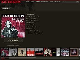 "Bad Religion ""Christmas Songs"" - Punkrock Weihnachtsalbum kostenlos streamen"