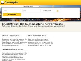 CheckMyBus.de - Fernbusse im Preisvergleich