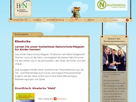 """Kinder-Naturschutz-Magazin """"kinatschu Wald"""" kostenlos bestellen"""