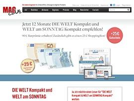 Welt: Kompakt - Am Sonntag plus Online Inhalte
