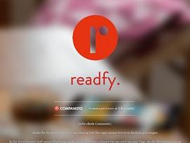 Readfy - Mehr als 35.000 E-Books kostenlos lesen dank Werbung
