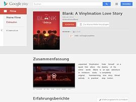 """Google Play spendiert zum Valentinstag """"Blank: A Vinylmation Love Story"""" zum Gratis-Download"""