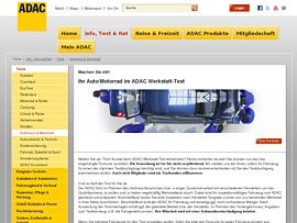 ADAC Werkstatt-Testkunde werden und Aufwandsentschädigung erhalten
