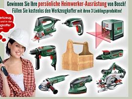 Bosch macht Heimwerker glücklich