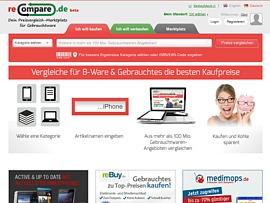 reCompare.de - Dank Preisvergleich Gebrauchtes günstig kaufen oder erfolgreich verkaufen