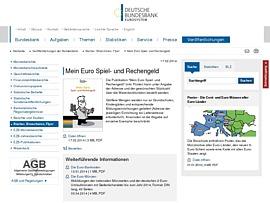 Mein Euro Spiel- und Rechengeld plus Poster kostenlos von der Deutschen Bundesbank