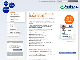 Netbank: Hohe Willkommensprämie für Neukunden
