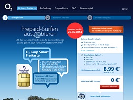 O2: Gratis Prepaid SIM mit Freiminuten
