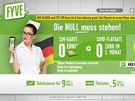 FYVE WM Aktion: Ein Monat surfen für lau