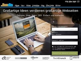 Homepage Baukästen - Mit dem besten Baukasten-System einfach und schnell zur eigenen Webseite
