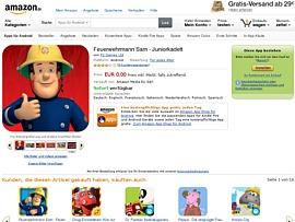 Amazon App Shop - Zwei kostenlose Apps für Vorschulkinder und Erstklässler