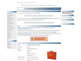 Outlet-Center: Adressen von Fabrikverkäufen in Deutschland und Europa