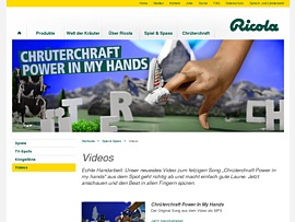 Ricola Song als MP3 und Klingelton zum Gratis-Download: Chrüterchraft Power In My Hands