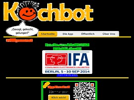 Kochbot - Gratis Koch-App mit Sprachsteuerung liest Rezepte vor
