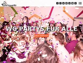 Partyguerilla spendiert Freibier und Gratis-Snacks für Eure WG-Party