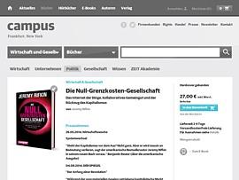 """""""Die Null-Grenzkosten-Gesellschaft"""" - Jeremy Rifkins schöne neue kostenlose Welt"""