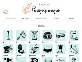 Pumpipumpe Sharing-Community - Kostenlose Aufkleber laden zum Teilen statt Kaufen ein