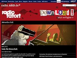 """Hörspiel Radio-Tatort """"Solo für Broschek"""" zum kostenlosen Download"""