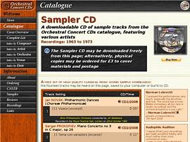 Orchestral Concert CD - Klassik-CD zum kostenlosen Download