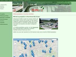 Kostenlose Mitfahrerparkplätze bei StraßenNRW