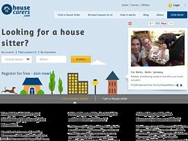 Housecarers - Plattform für weltweites Haussitting und Haussitter
