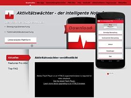Aktivitätswächter - App für automatische Notrufe