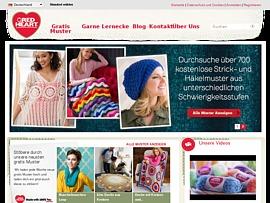 Red Heart Garn bietet Strick- und Häkel-Muster zum kostenlosen Download