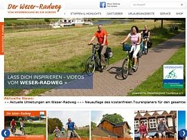 Tourenplaner für den Weser-Radweg kostenlos bestellen