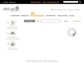 Deliqat.de - Mit Rezept- und Einkaufsvorschlägen beim Kochen Zeit und Geld sparen