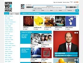 Intervox bietet ganze CDs verschiedener Genre zum kostenlosen Download