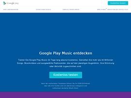 Google Play Music - Kostenloser Online-Speicherplatz auf 50.000 Songs erweitert