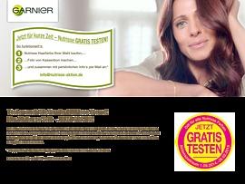 Garnier Nutrisse Creme Haarfarbe Kostenlos Testen
