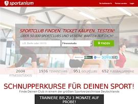 Sportanium.de - Sport- und Fitness-Angebote in der Nähe finden und testen