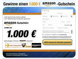 Kostenloser Großeinkauf bei Amazon