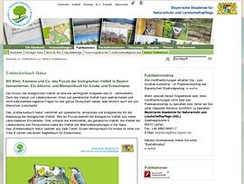 Entdeckerbuch Natur - Aktions- und Mitmachbuch für Kids zum Thema biologische Vielfalt