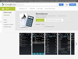 Reisekasse - Kostenlose Android-App verwaltet Reisekosten von Gruppen